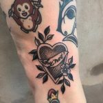 Why not tattoo by Tine DeFiore