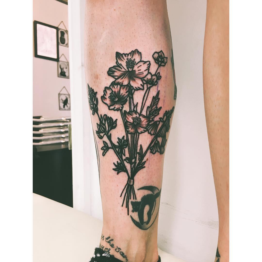 Wildflower bouquet by Zaya Hastra