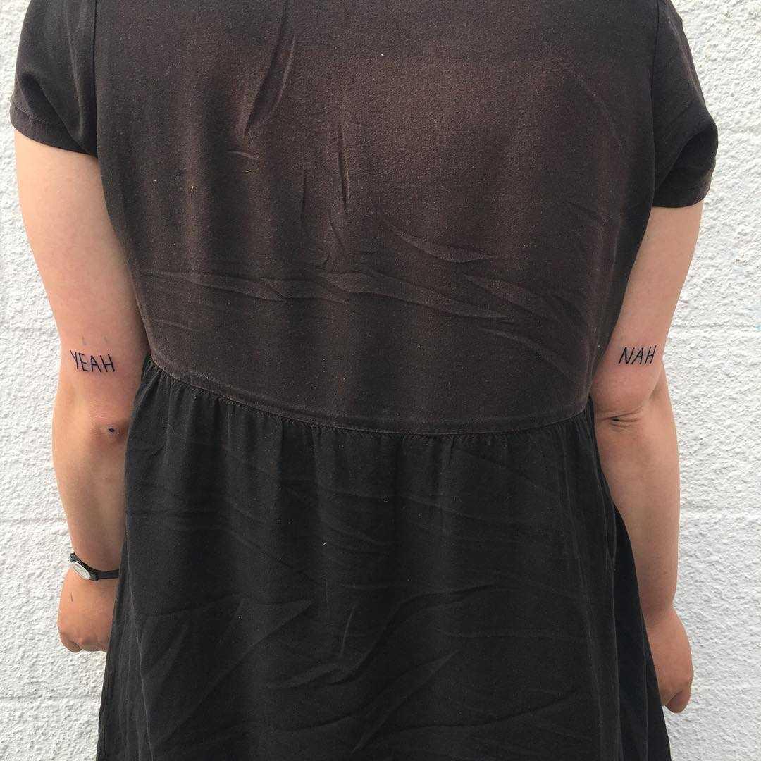Yeah nah tattoos by yeahdope