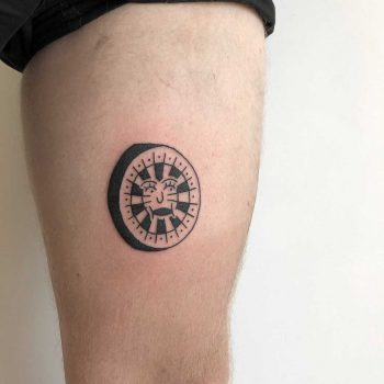 A target tattoo for insulin shots by yeahdope