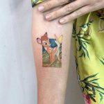 Bambi tattoo by Eden Kozo