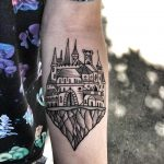 Castle on a rock by Mike Nofuck