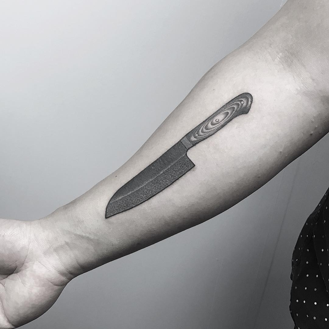 Chef knife by Oliver Whiting