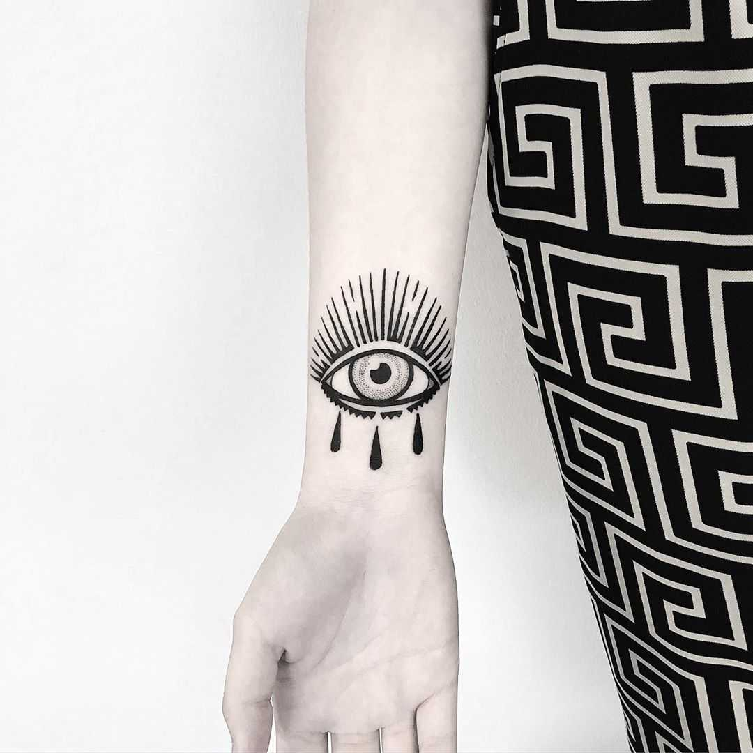 Crying eye by Pulled Poltergeist