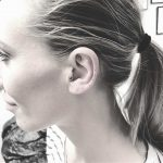 Dots tattoo on the left ear by Annelie Fransson