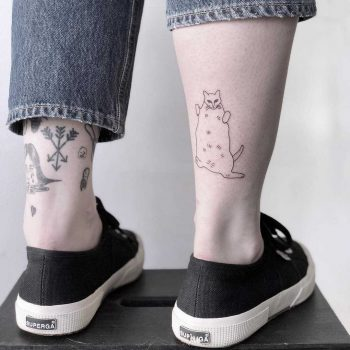 Fearbear tattoo by Chinatown Stropky