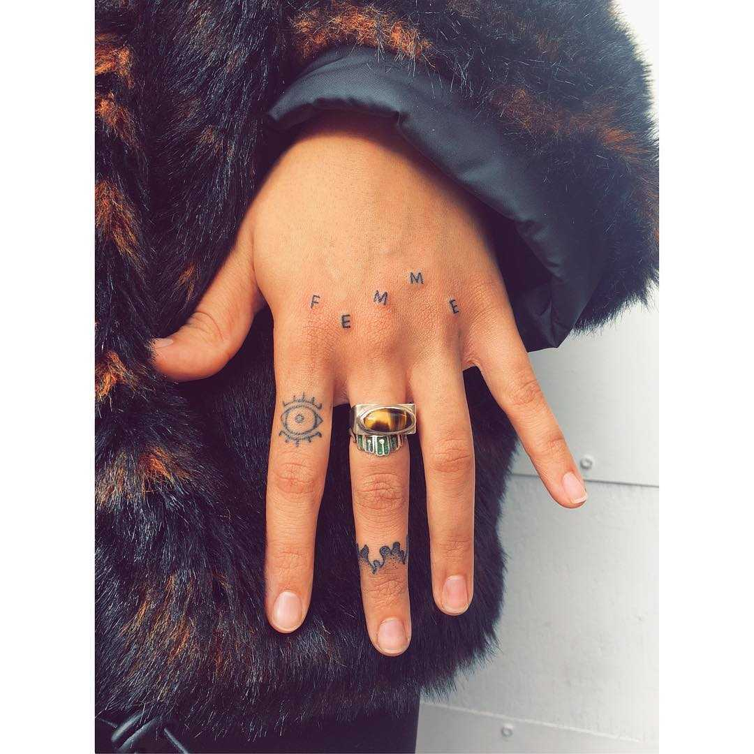 Femme tattoo by Zaya Hastra
