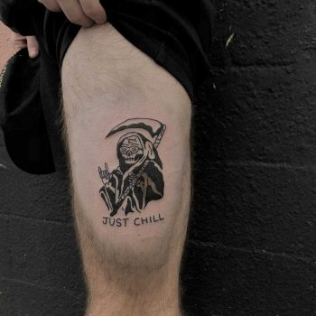 Just chill tattoo by yeahdope