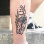 Justice is blind by Hand Job Tattoo