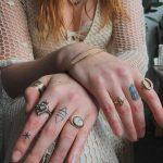 Magic finger tattoos by Stanislava Pinchuk