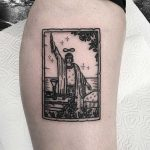 Magician tattoo by Deborah Pow