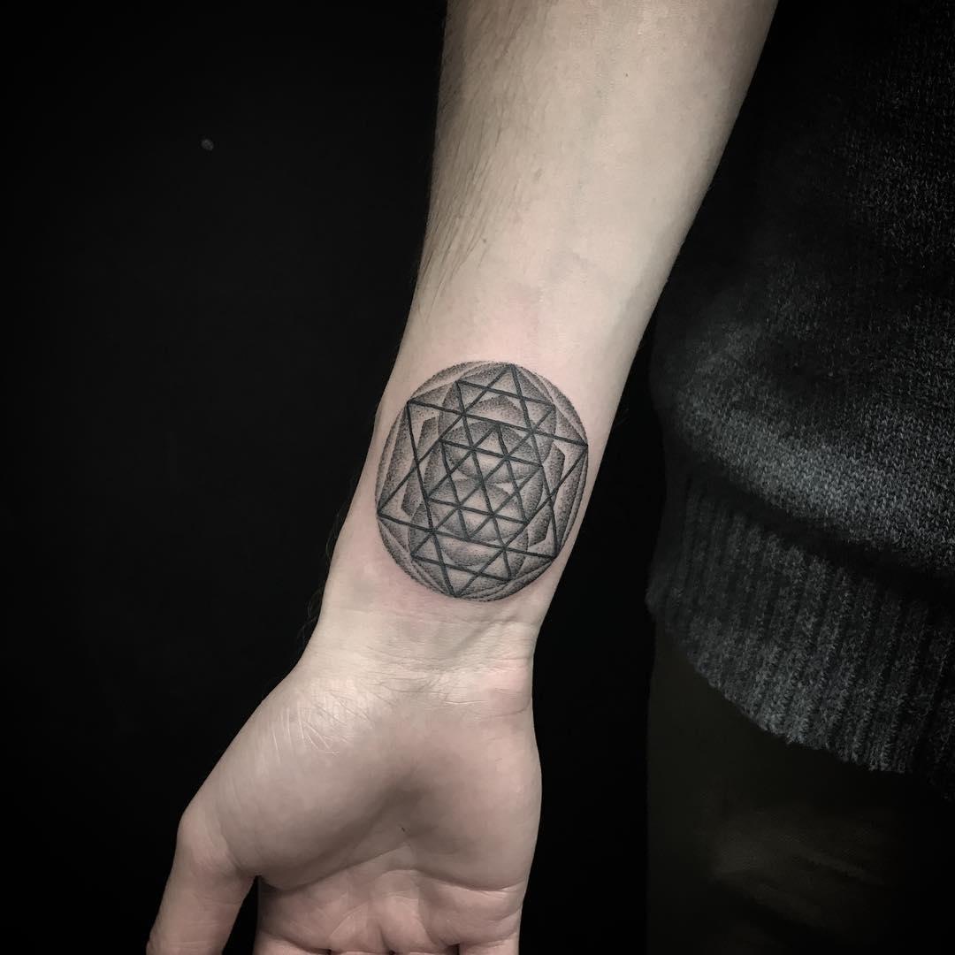 Mini cover-up tattoo by Jaya Suartika