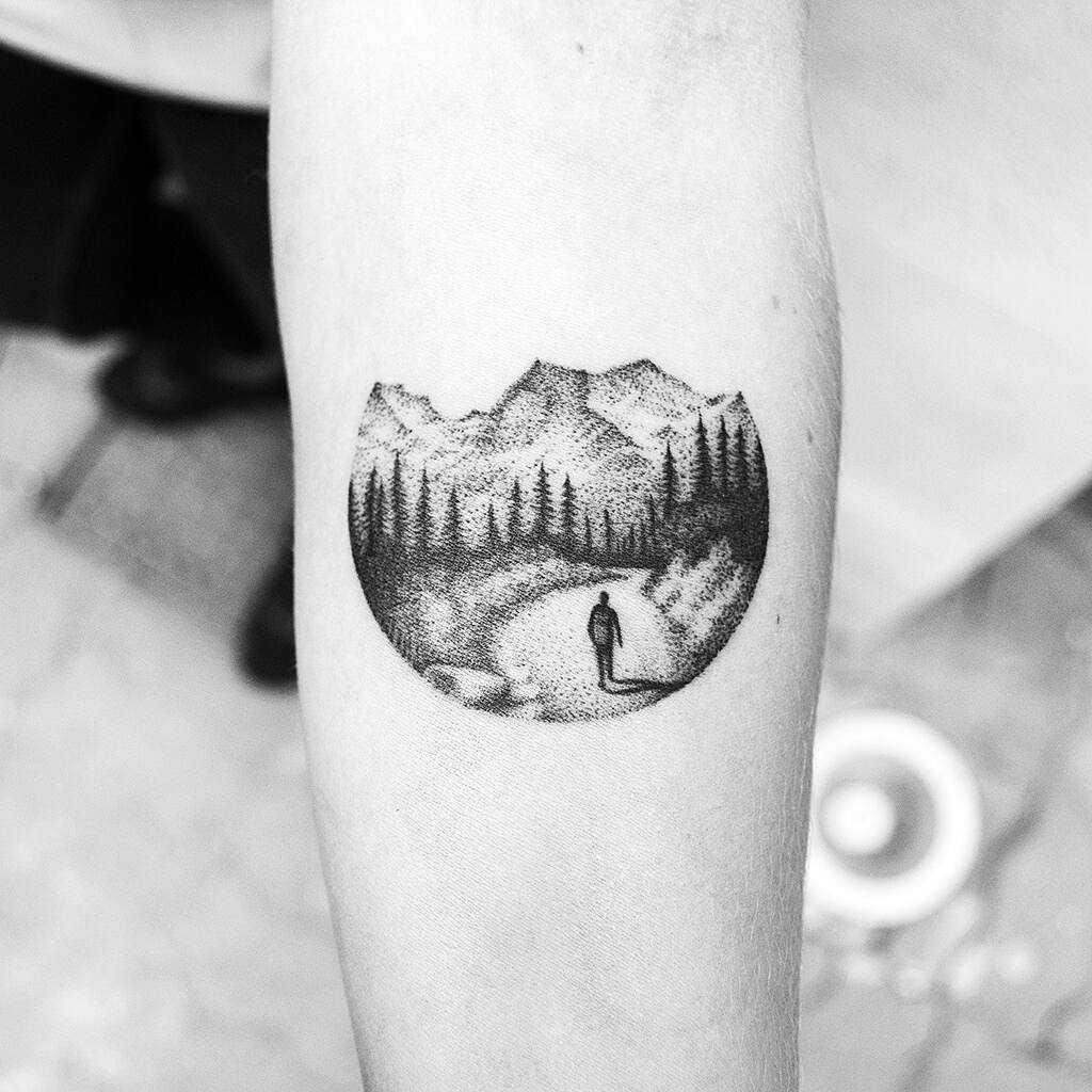 Mountainous landscape by Amanda Piejak