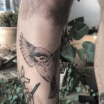 Nightingale by tattooist Spence @zz tattoo
