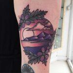 Seascape tattoo by Luke.A.Ashley