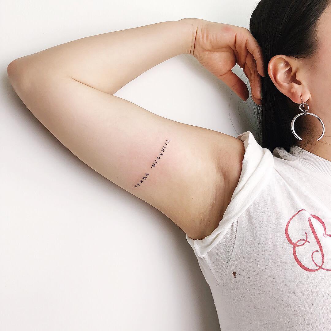 Terra Incognita tattoo by Kelli Kikcio