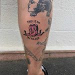 This is an outrage tattoo by yeahdope