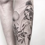 Venus tattoo by Julim Rosa