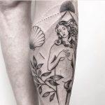 Venus tattoo by Julim Rosa