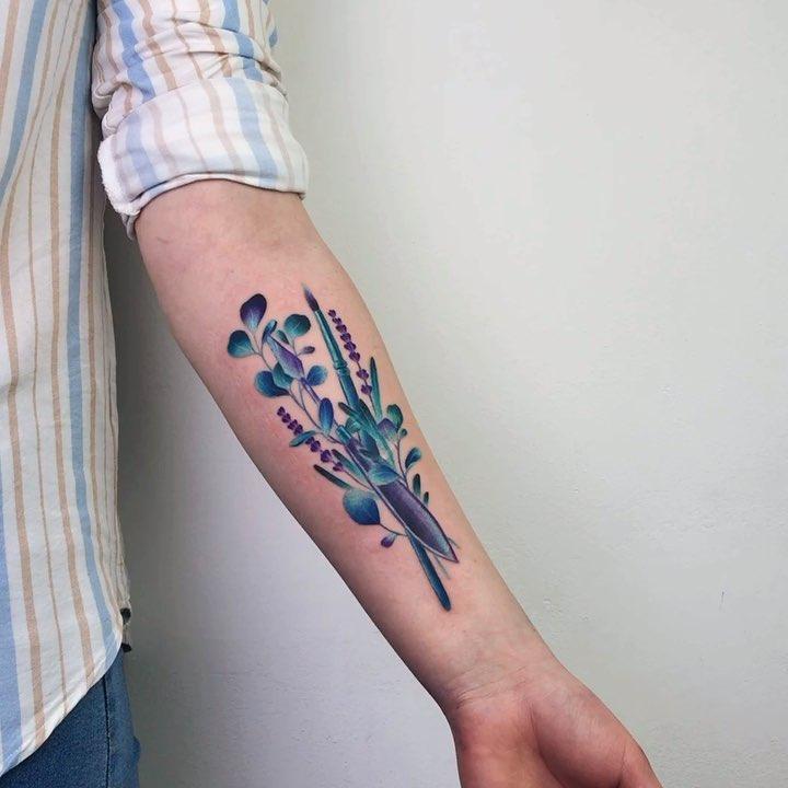 Watercolor florals by Valeria Yarmola