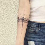 Dragonfly tattoo by Julim Rosa