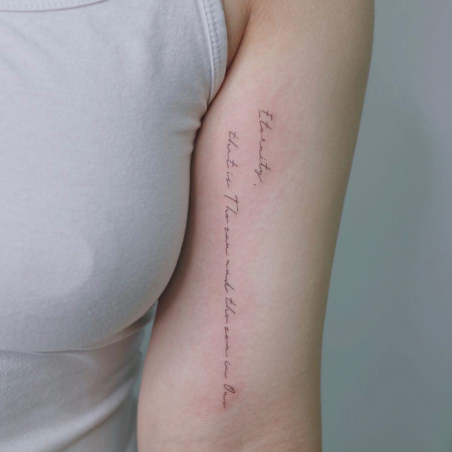 Eternity by tattooist Nemo
