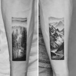 Forest and mountain scenes by Amanda Piejak