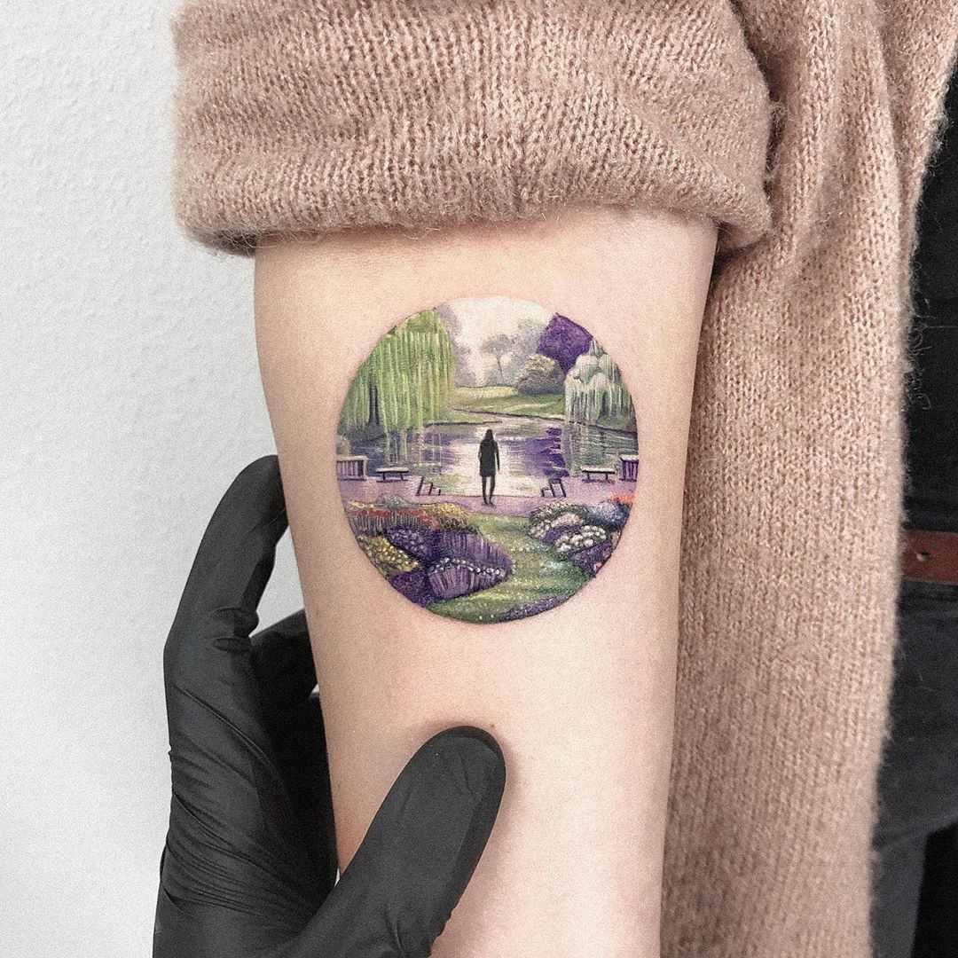 Garden of Eden tattoo by Eden Kozo