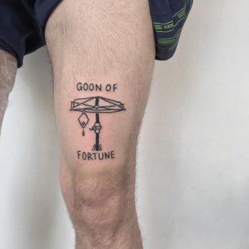 Goon of fortune tattoo by yeahdope