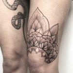 Half mandala by tattooist Spence @zz tattoo