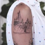 Hogwarts️ tattoo by Karry Ka-Ying Poon