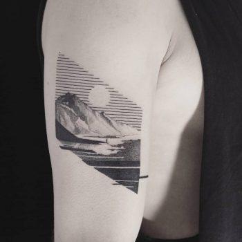 Lonely traveler by Aga Kura