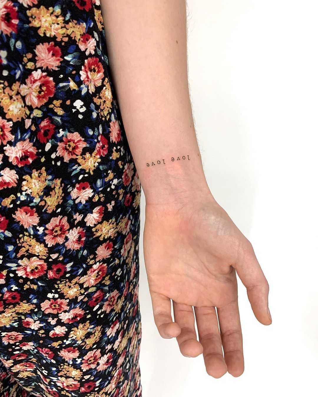 Love love tattoo by Gianina Caputo