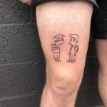 Milhouse and Shelbyville Milhouse by tattooist yeahdope