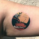 Naruto tattoo by Eugene Dusty Past