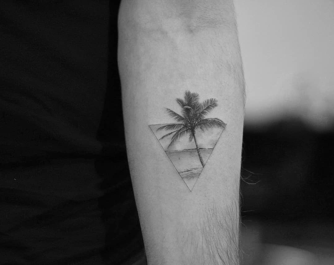 Paradise island by Dragon Ink