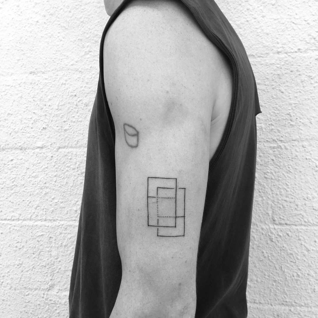 Rectangles and squares by Nadia Rose