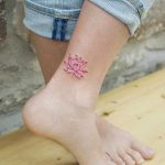 Small lotus flower by tattooist picsola