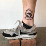 Thunder lizard tattoo by yeahdope