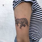 Tiger by tattooist yeahdope