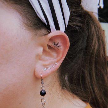 Tiny ear ornament by Belladona Hurricane
