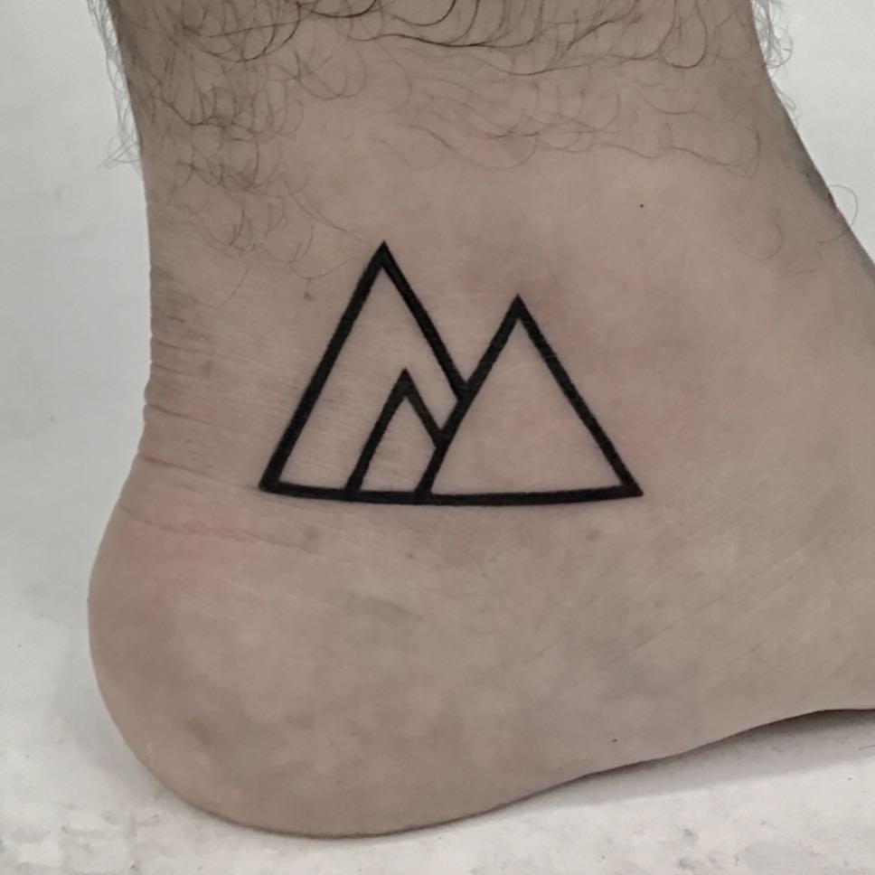 Triangle Sigil tattoo by Kevin Jenkins