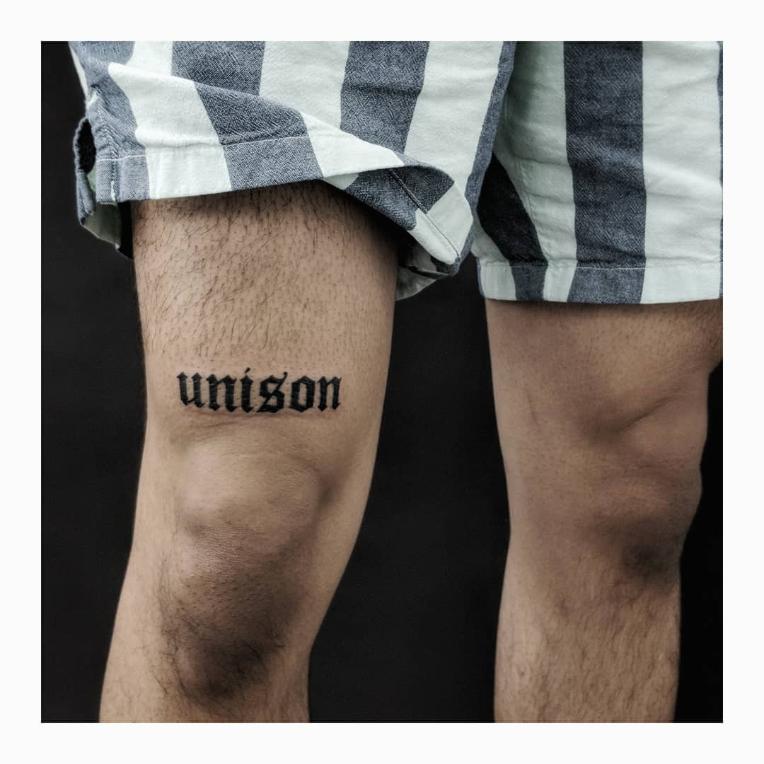 Unison tattoo by Sabrina Parolin
