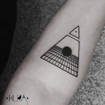Void tattoo by Aga Kura