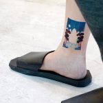 Ankle tattoo by tattooist Yeonho