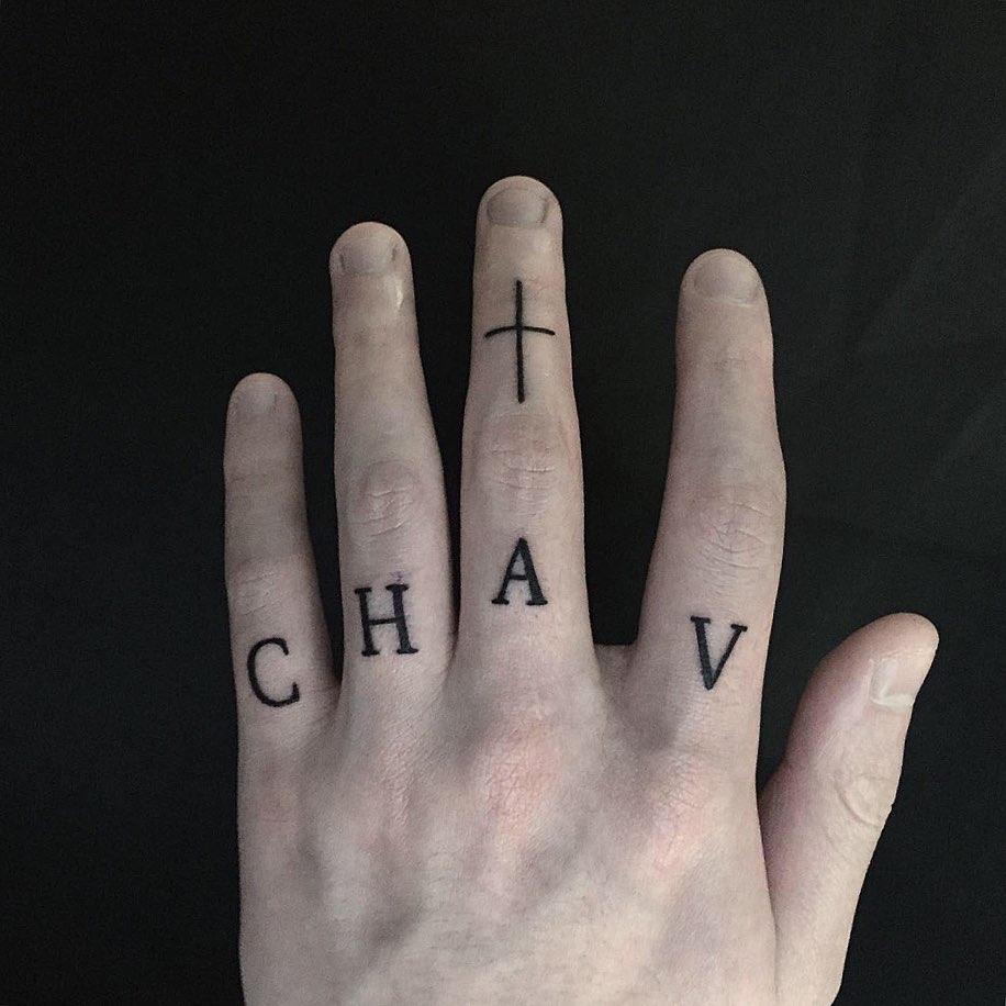 Chav by tattooist yeontaan