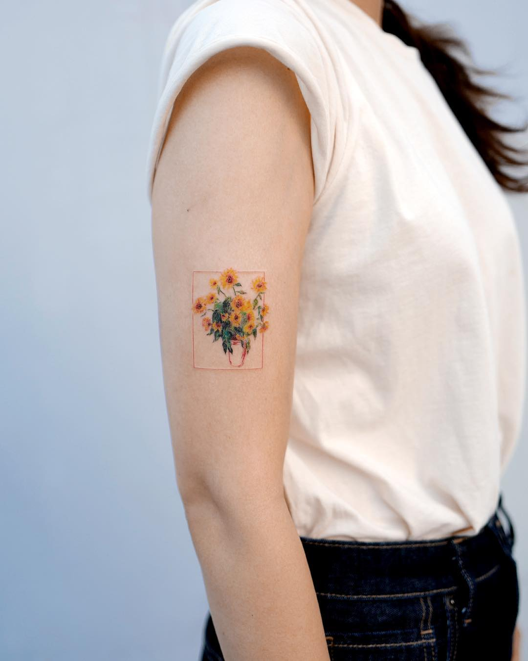Claude Monet's Sunflower by Studio Bysol