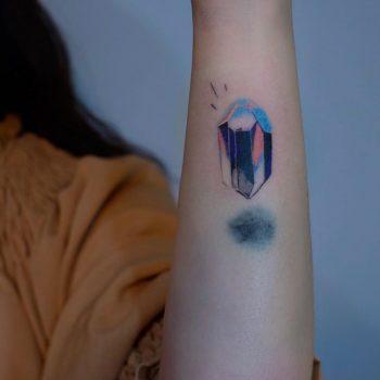Crystal by tattooist Yeonho