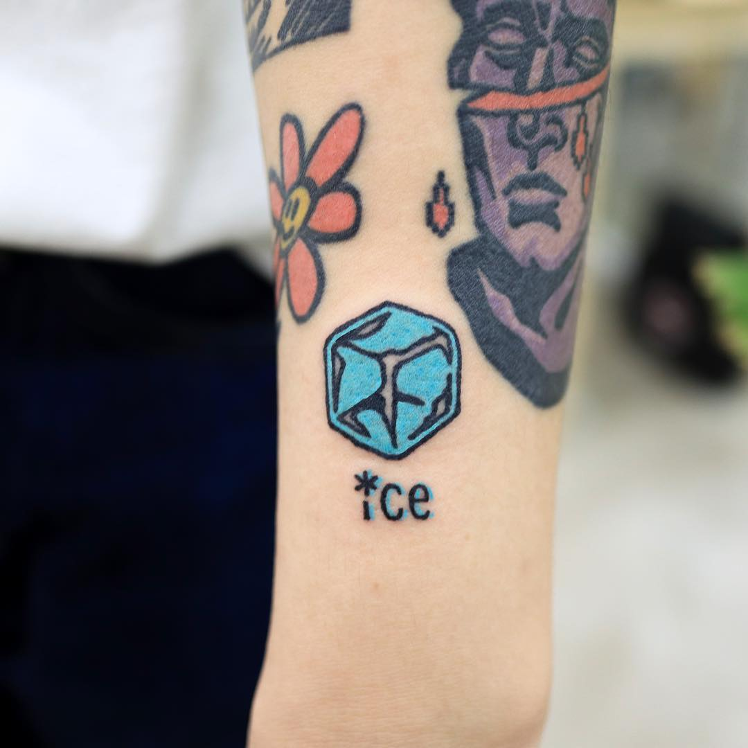 Ice tattoo by Puff Channel