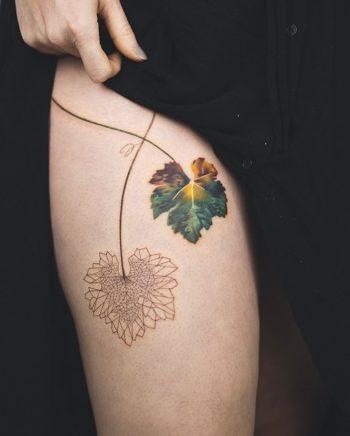 Leaves by Rey Jasper